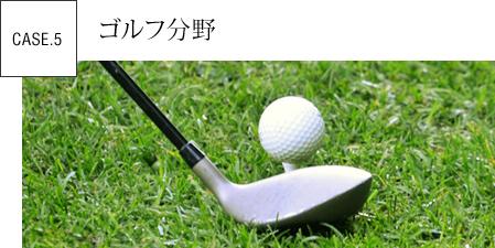 ゴルフ分野